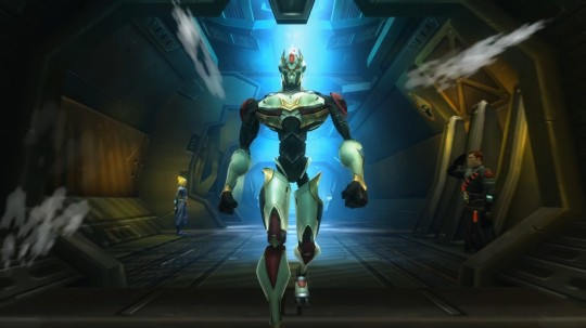 A screenshot of a Mechari form WildStar