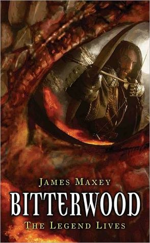 "Cover art for ""Dragon Age, book one: Bitterwood"" by James Maxey"