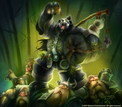 Art of Chen Stormstou from World of Warcraft