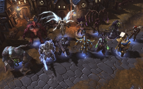 Several of the playable characters in Heroes of the Storm