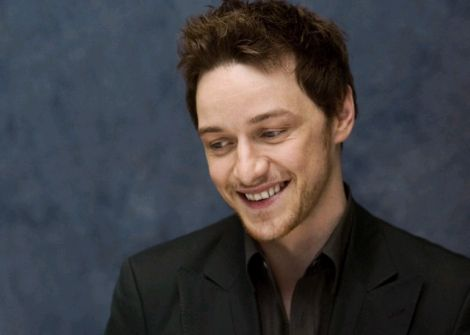 A photo of actor James McAvoy