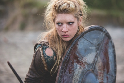 Katheryn Winnick in her role as Lagertha in Vikings