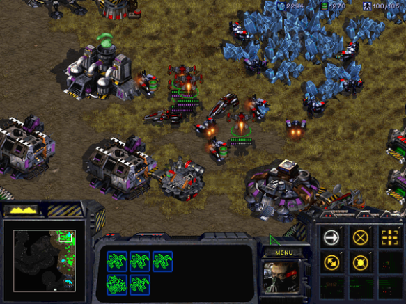 A mission from the original StarCraft campaign