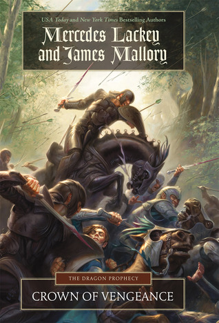 "Cover art for ""The Dragon Prophecy, book one: Crown of Vengeance"" by Mercedes Lackey and James Mallory"
