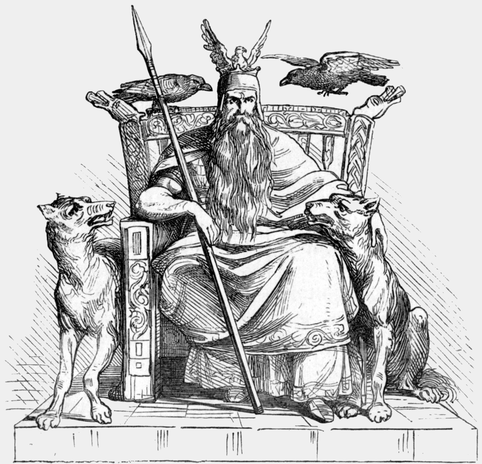 odin is the writer s god superior realities. Black Bedroom Furniture Sets. Home Design Ideas