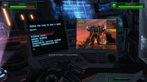 An Easter egg in the StarCraft: Mass Recall mod