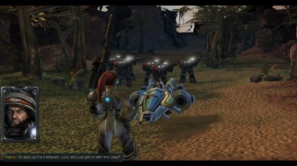 A cutscene in the StarCraft: Mass Recall mod