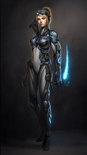 Art of Nova Terra from StarCraft