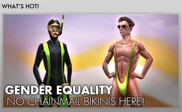 "Art of the ""Gender Equality"" outfit in The Secret World"