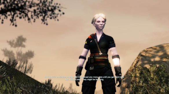 My character in Defiance