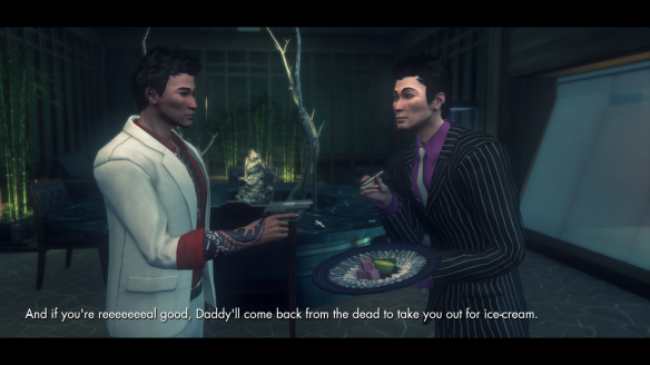 Daimon Kiyota being awesome in The Secret World