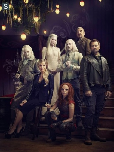 The cast for Defiance for season two