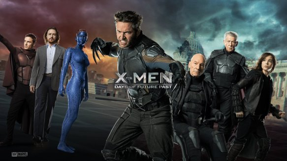 A promotional image for X-Men: Days of Future Past