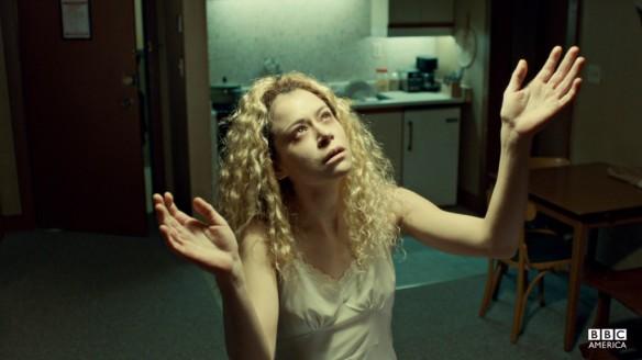 Helena the killer clone in Orphan Black