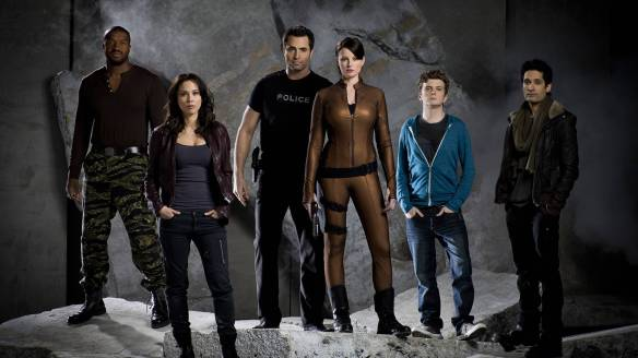 The cast of Continuum