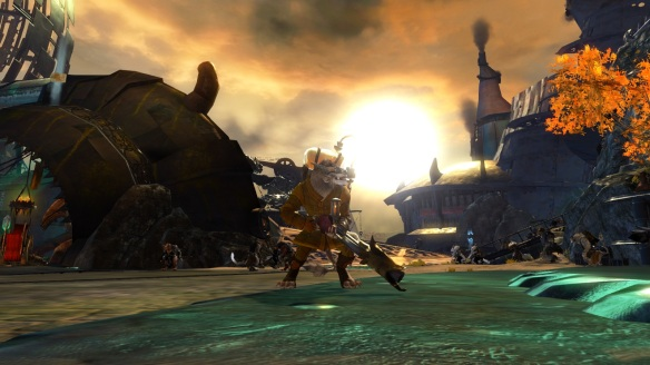 My Charr engineer in Guild Wars 2
