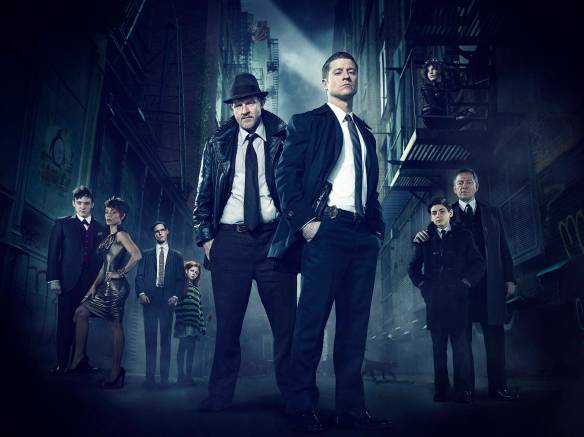 A promotional photo of the Gotham cast