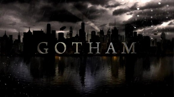The logo for the new TV series Gotham