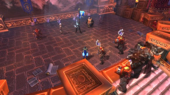 My rogue's story is told at the completion of the legendary quest chain in World of Warcraft: Mists of Pandaria