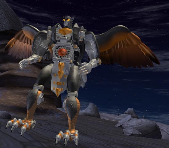The Maximal Silverbolt in Beast Wars