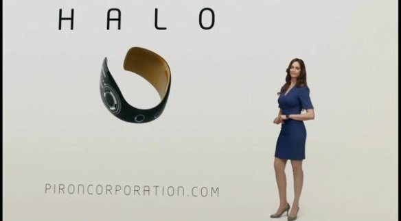 An advertisement for Alec's Halo technology from Continuum