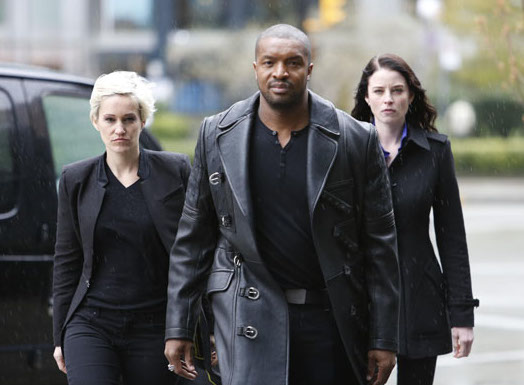 "Kiera and Liber8 united against Alec Sadler in the third season finale of ""Continuum"""