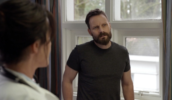Ryan Robbins as John Doe in Continuum
