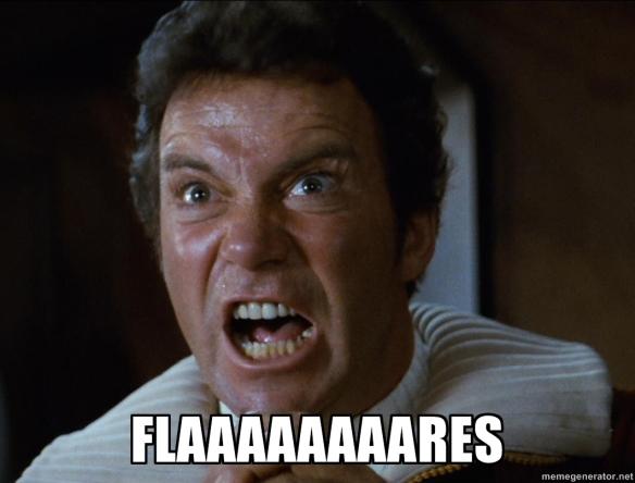 FLAAAAAAAAAARES!!!!!!