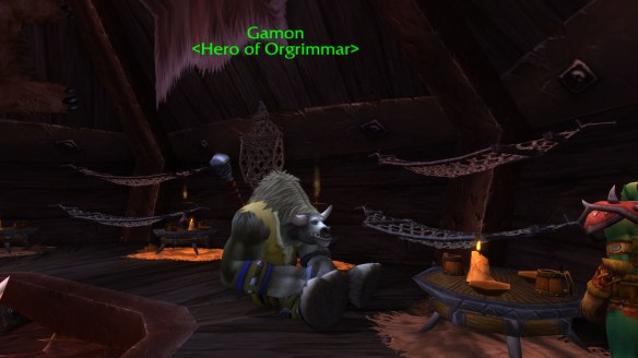 At last, things are going Gamon's way