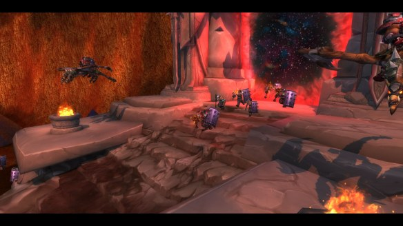 A cinematic of the Iron Tide invading during World of Warcraft's pre-expansion event