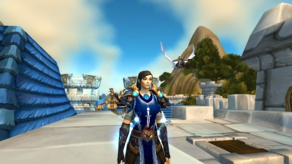 The new face I chose for my rogue after World of Warcraft's character model updates