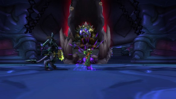 My warlock soloing Bastion of Twilight in World of Warcraft