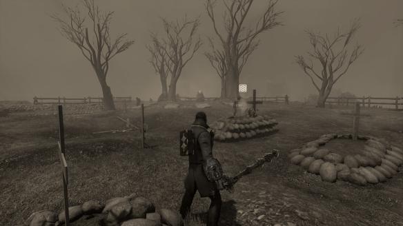 My Dragon investigating a graveyard during the new Broadcast Halloween event in TSW