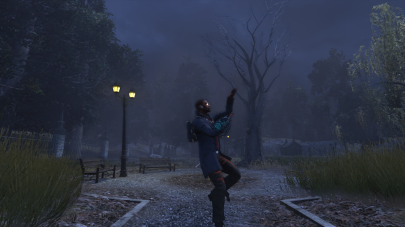My Dragon demonstrates his new /dance_thriller emote in The Secret World