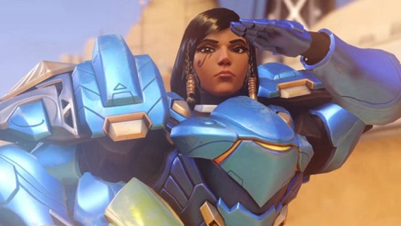 Pharah, a character in Overwatch