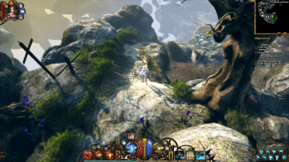 A screenshot from the Ink Hunt DLC for The Incredible Adventures of Van Helsing II