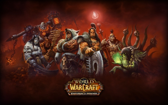 A wallpaper for World of Warcraft: Warlords of Draenor