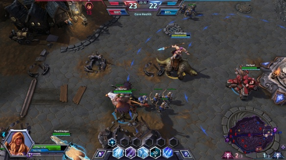 A hilarious glitch in Heroes of the Storm