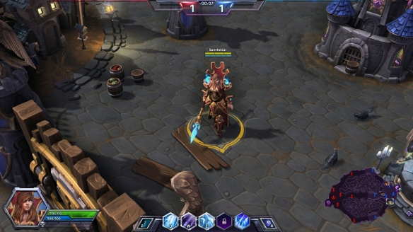 My Jaina showing off her master skin in Heroes of the Storm