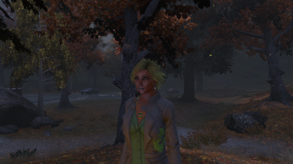 My new Dragon alt in The Secret World