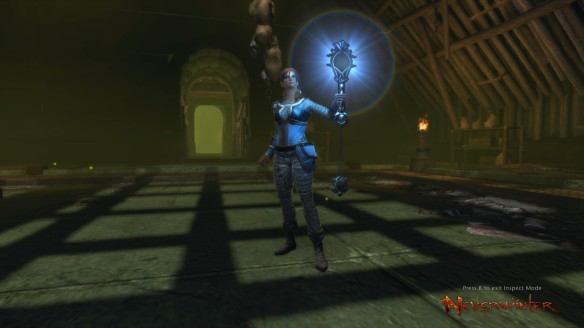 My devoted cleric in Neverwinter