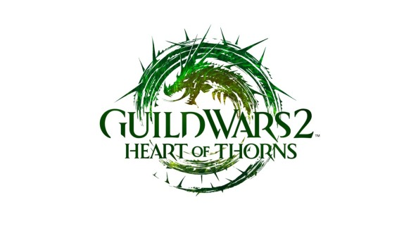 The official logo for Guild Wars 2: Heart of Thorns