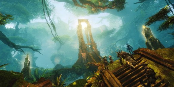 A screenshot from Guild Wars 2: Heart of Thorns