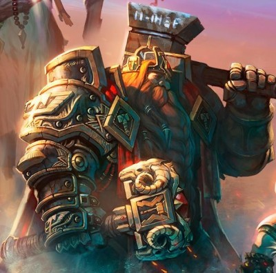 Art of Magni Bronzebeard from World of Warcraft