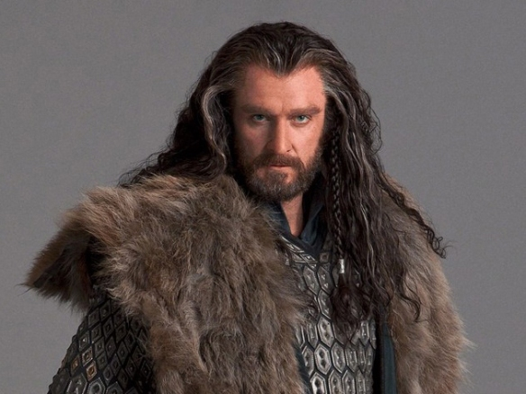 Richard Armitage as Thorin Oakenshield in the Hobbit films