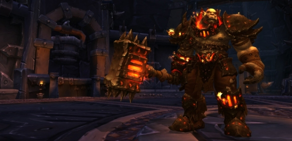 Blackhand in the Blackrock Foundry raid in World of Warcraft: Warlords of Draenor