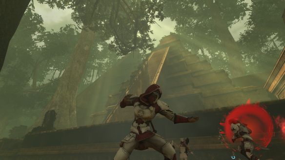 My Templar battling in El Dorado in The Secret World
