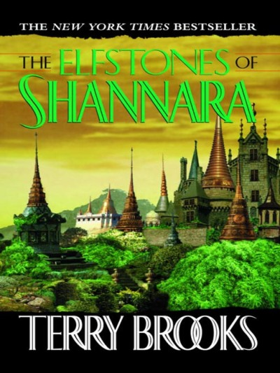 Cover art for The Elfstones of Shannara, the second book in the original Shannara trilogy