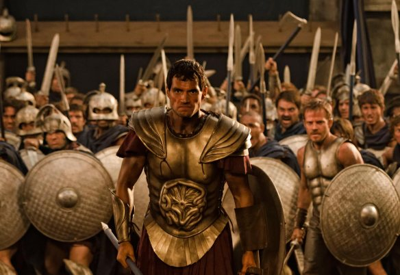 A shot of Theseus in the movie Immortals