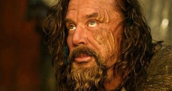 Mickey Rourke as King Hyperion in Immortals